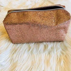 Handbags - Pink Glitter Makeup Bag🌸
